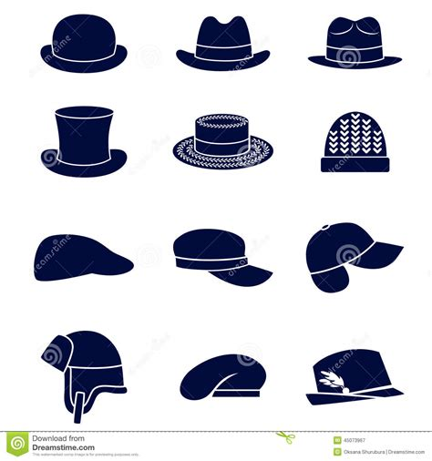 types of hats types of hats clipart clipart suggest