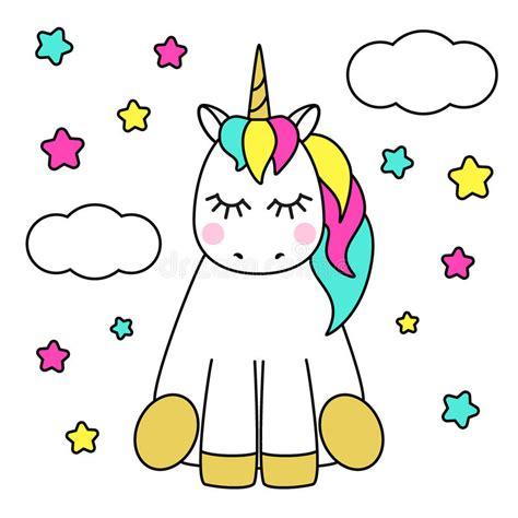 imagenes de animales unicornios personaje de dibujos animados infantil lindo como