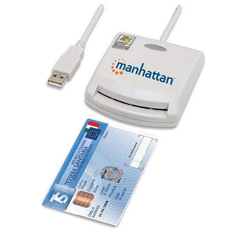 firma digitale di commercio roma lettore di smart card usb esterno manhattan 172844
