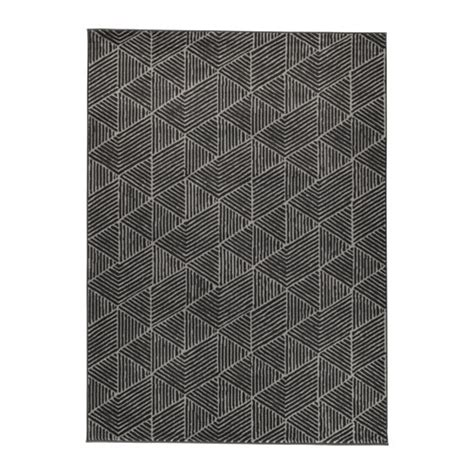 Ikea Square Rug stenlille rug low pile grey 170x240 cm ikea