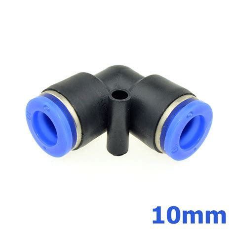 Y 10mm Fitting Y Pneumatic Ukuran 10mm X 10mm X 10mm Mpy 10 10mm od to 13mm thread pneumatic connector
