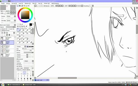 paint tool sai stabilizer doesn t work linework on sai tutorial