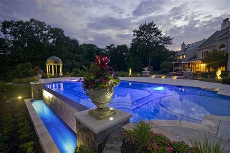 Pool Landscape Lighting Ideas 30 Beautiful Swimming Pool Lighting Ideas