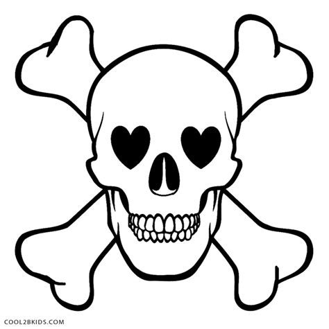 coloring clown skull coloring pages