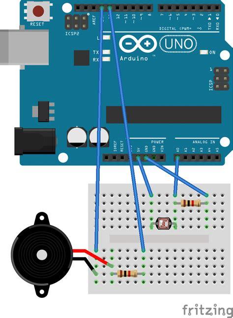 arduino nano sensor light wiring diagram free