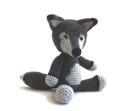 amigurumi pattern wolf crochet pattern wolf amigurumi instant by yukiyarndesigns