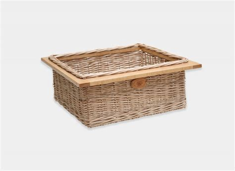 Kitchen Basket Drawers by Bespoke Kitchen Drawer Basket Products Somerset Willow