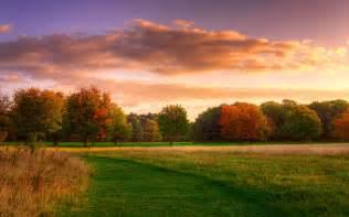 Natrliche Landschaft, Herbst Sonnenaufgang, Wald, Himmel