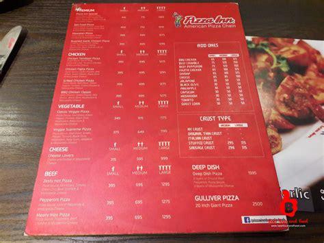 Inn Pizza Menu Best Tour And Food Pizza Inn Mirpur 2