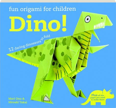 Origami For Children Book - dino origami for children hamiltonbook