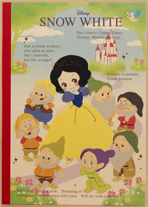 snow white story book with pictures snow white tale notebook exercise book with dwarfs