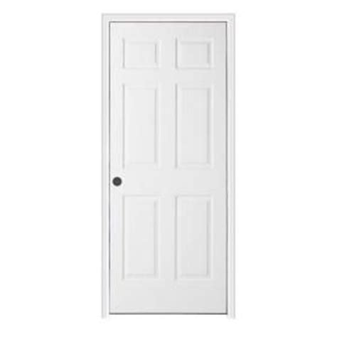 Split Interior Doors Jeld Wen Textured 6 Panel Primed Molded Split Jamb Prehung Interior Door Thdjw136500734 At The