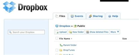 dropbox public folder how to stream your own music using droptunes and dropbox