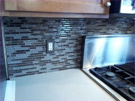 blue tile kitchen backsplash sea glass backsplash tile sea blue green glass stainless