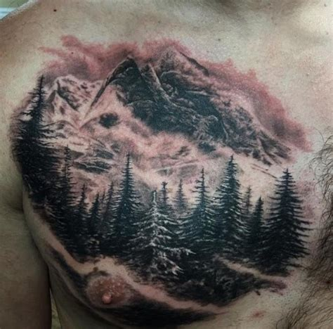 mountain scene by alex arango tattoonow