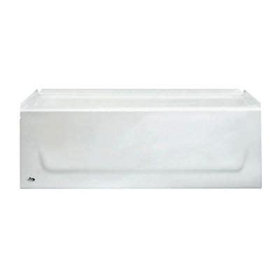 bootz bathtubs bootz industries honolulu 46 1 2 in left hand drain
