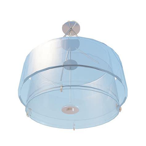 3d Light Fixtures Drum Pendant Light Fixture 3d Model 3ds Max Files Free Modeling 30444 On Cadnav
