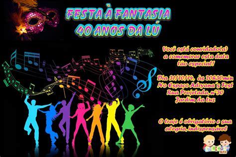 Modelo De Convite Para Festa Photoshop E Arte Convites Modelo De Convite Para Festa Convite Festa 224 Fantasia
