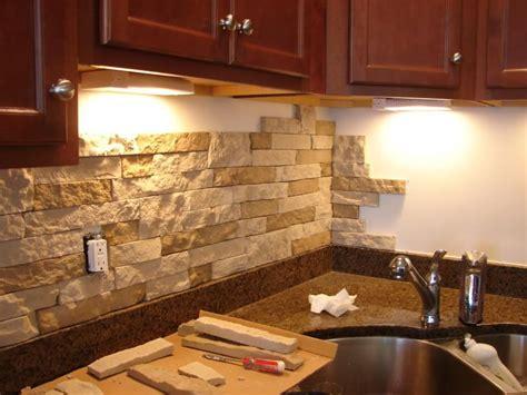 kitchen backsplash lowes diy stone backsplash with airstone from lowes thinking