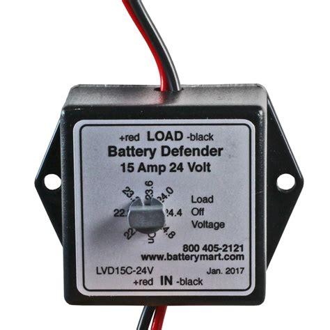 volt low voltage 24 volt 15 low voltage disconnect battery saver