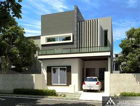 home design ideas 5 marla 5 marla house at canal garden lahore by maa wa architects