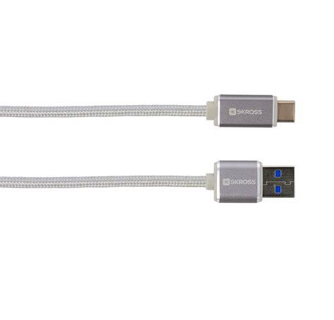 Kabel Stainless Steel Type C kabel usb type c 3 0 steel line skross polska