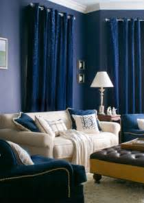 Horchow Drapes 10 Navy Rooms To Inspire You To Pick Up The Paintbrush
