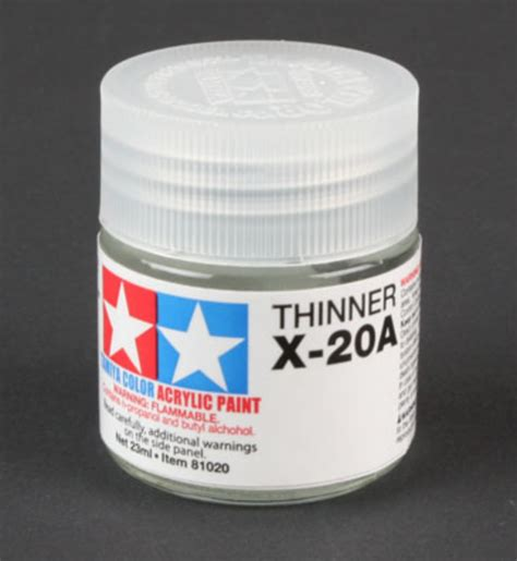 Tamiya Acrylic Thinner 46ml tamiya 81030 acryl poly thinner x 20a 46ml midwest