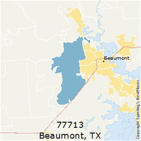 beaumont zip code map best places to live in beaumont zip 77713