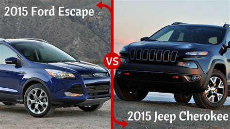 jeep escape jeep vs ford escape