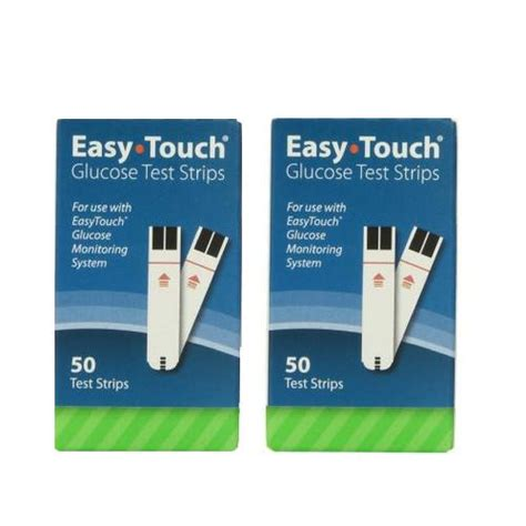 Easy Touch Strips Blood Glucose easy touch blood glucose test strips 100 count grace healthcare
