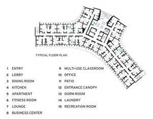Manzanita Hall Asu Floor Plan by Manzanita Hall At Arizona State University Studio Ma