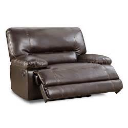 snuggle up chocolate recliner