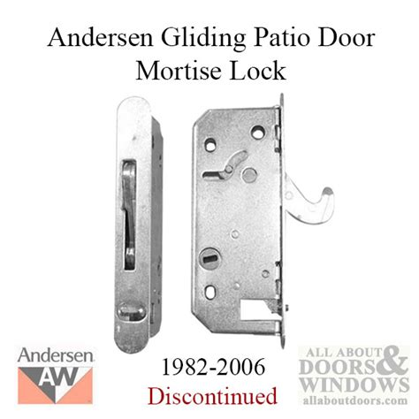andersen door lock andersen mortise locks strikes