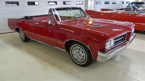Pontiac Convertible For Sale by 1964 Pontiac Gto Convertible Stock 186329 For Sale Near