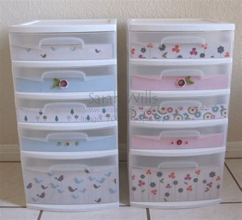 How To Decorate Sterilite Drawers by Sweet Pea Sterilite Drawers By Willsygirl Cards And