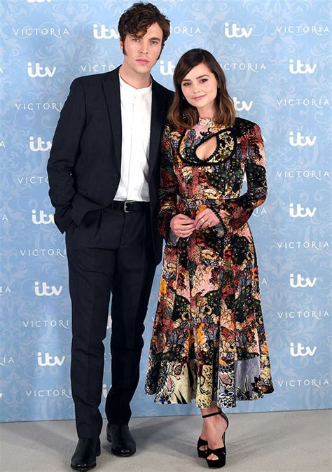 tom hughes instagram victoria star jenna coleman emerges without that ring amid