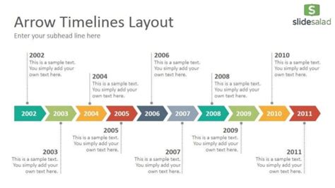 Timelines Diagrams Powerpoint Presentation Template Slidesalad Timeline In Powerpoint Template