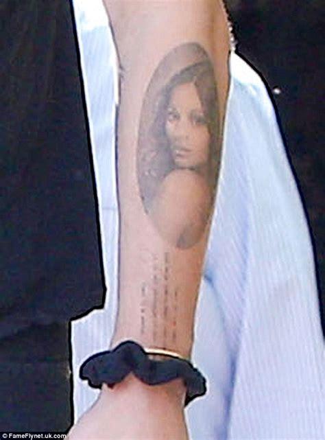 zoe saldana tattoo zoe saldana husband marco perego inked third