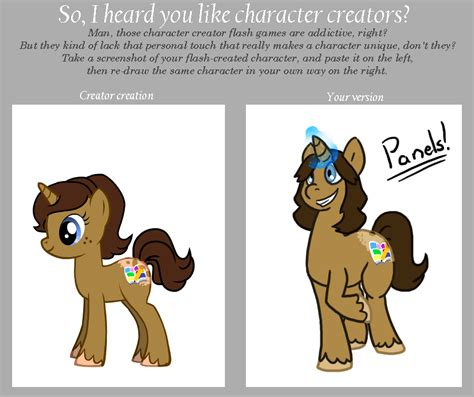 Meme Character Creator - mlp character creator meme by spud133 on deviantart