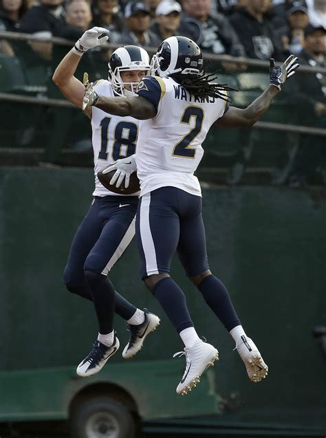 jared goff cooper kupp shine  rams   exhibition win