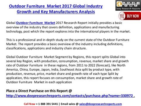 furniture industry trends 2017 global outdoor furniture industry trends demand and