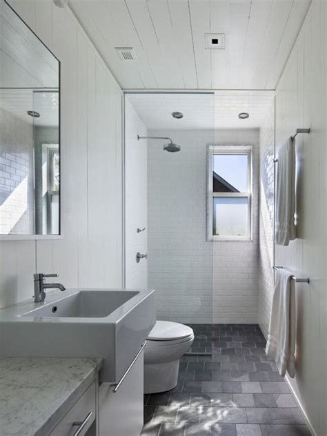 small narrow bathroom with shower layout google search narrow bathroom bathroom and slate on pinterest