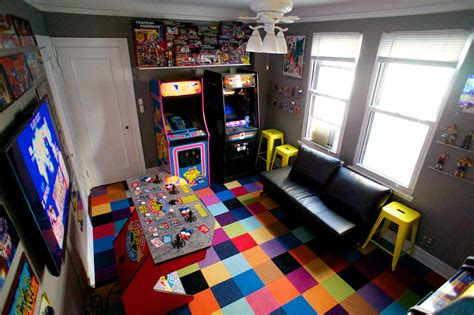 games bedroom how to turn your bedroom into an arcade