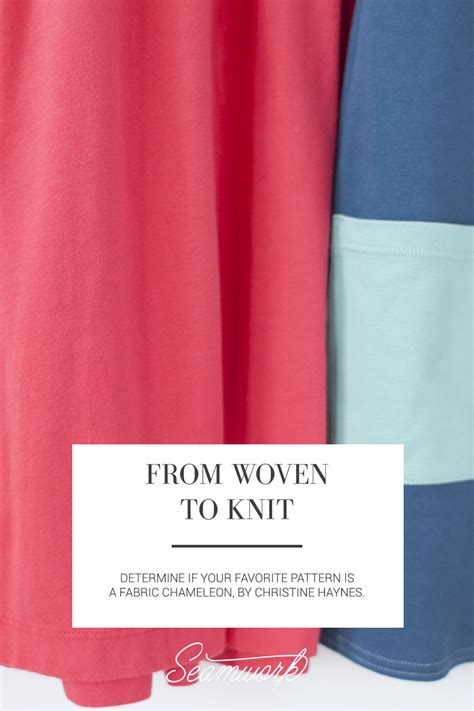 sewing knits from fit to finish proven methods for conventional machine and serger books from woven to knit seamwork magazine