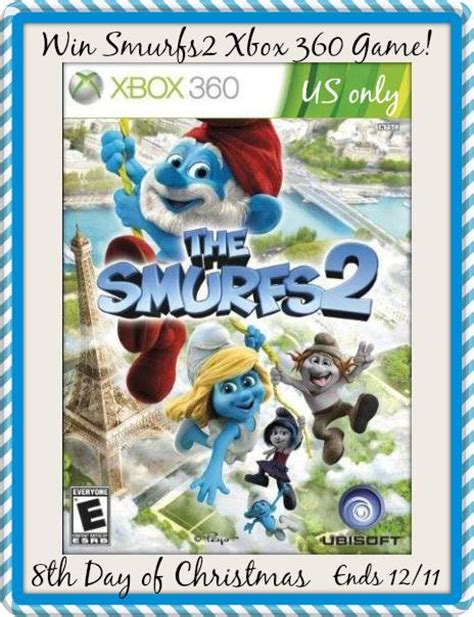 Xbox 360 Sweepstakes - smurfs 2 xbox 360 giveaway a sweet potato pie