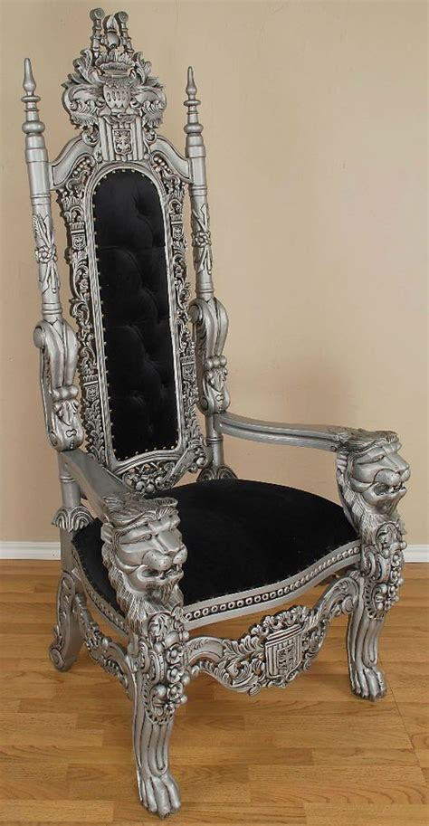 black throne chair carved mahogany throne chair king