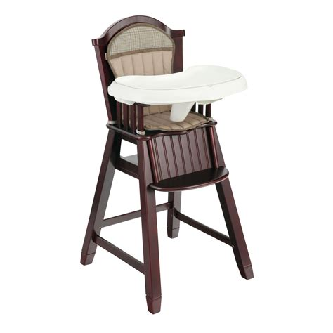 wood high chair parts eddie bauer highchair