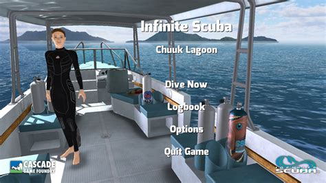 boat dock games new underwater simulation game infinite scuba launches