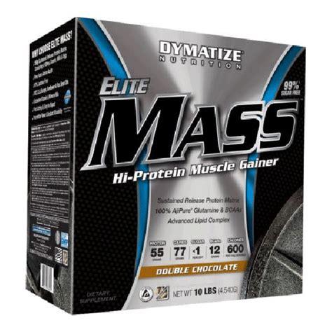 Elite Mass Gainer 10lbs Dymatize dymatize elite mass weight gainer protein supplement